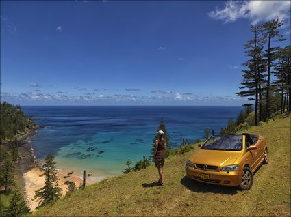 Anson Bay - Norfolk Island - NSW SQ (PBH4 00 12120)