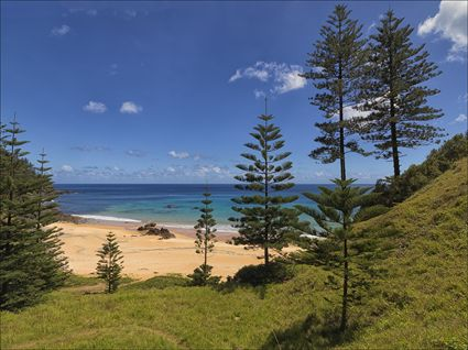 Anson Bay - Norfolk Island - NSW SQ (PBH4 00 12135)