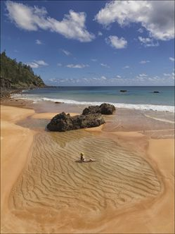 Anson Bay - Norfolk Island - NSW SQ V (PBH4 00 12152)