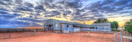 Bucklow Station - Woolshed - NSW (PB5D 00 2700)