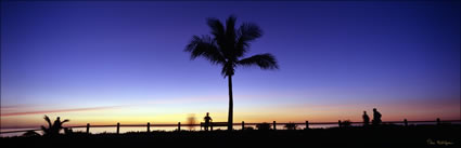 Cable Beach Silhouette Sunset - WA (PB00 4465)