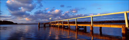 Coomba Park Public Jetty at Angle - NSW