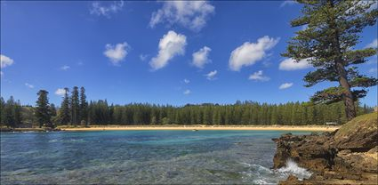 Emily Bay - Norfolk Island - NSW T (PBH4 00 12017)