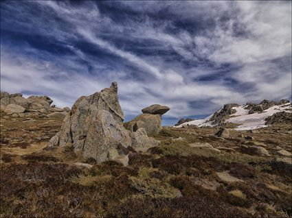 Granite Outcrop - Kosciuszko NP - NSW SQ (PBH4 00 10689)