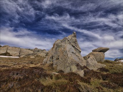 Granite Outcrop - Kosciuszko NP - NSW SQ (PBH4 00 10691)