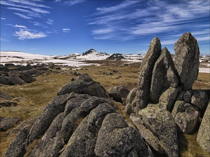 Granite Outcrop - Kosciuszko NP - NSW SQ (PBH4 00 10789)