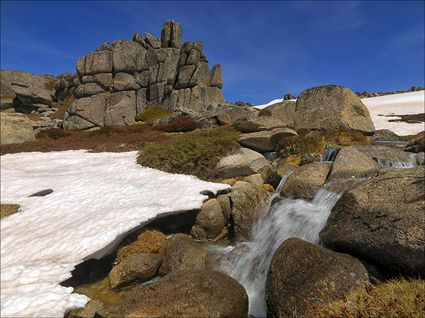 Granite Tor and Stream - Rams Head Range - NSW SQ (PBH4 00 10800)