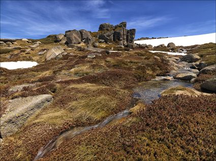 Granite Tor and Stream - Rams Head Range - NSW SQ (PBH4 00 10808)