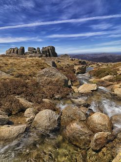Granite Tor and Stream - Rams Head Range - NSW T V (PBH4 00 10809)