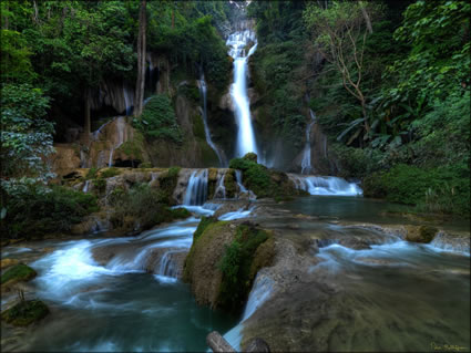 Kuang Xi Waterfall  SQ (PBH3 004028)