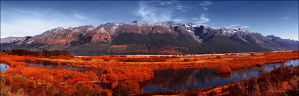 Mountains at Glenorchy - NZ (PB 002841)