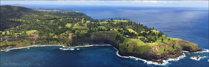Point Vincent - Duncombe Bay - Norfolk Island (PBH4 00 18945)