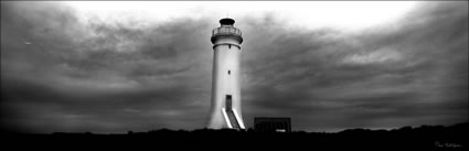Port Stephens Lighthouse 2 -NSW (PB00 4506) BW
