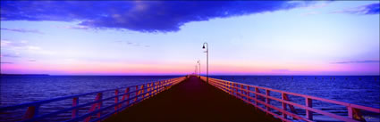 Shorncliffe Jetty Sunset 3 - QLD (PB00 3121)