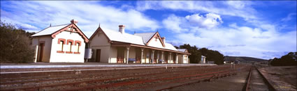 Tarago Railway Station Angle - NSW (PB00 3639)