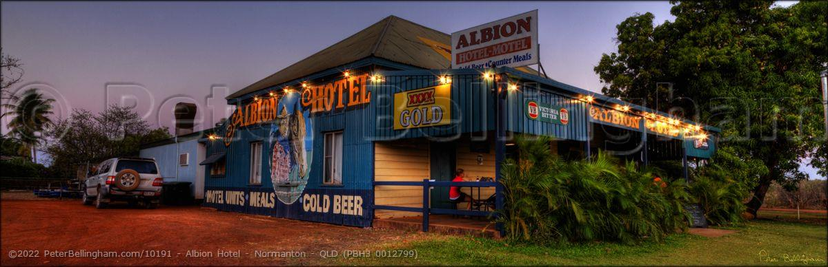 Peter Bellingham Photography Albion Hotel - Normanton - QLD (PBH3 0012799)