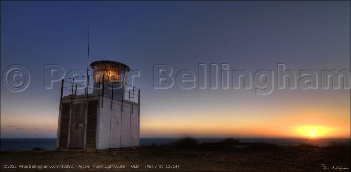 Peter Bellingham Photography Archer Point Lighthouse - QLD T (PBH3 00 13314)