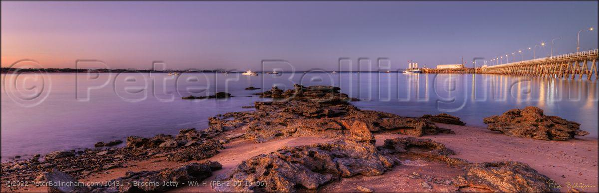 Peter Bellingham Photography Broome Jetty - WA H (PBH3 00 10496)