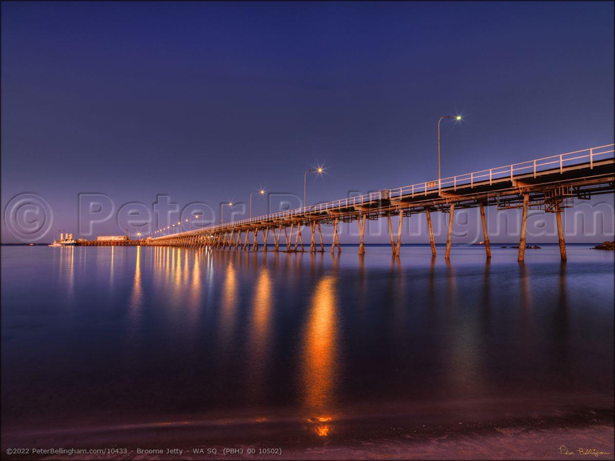 Peter Bellingham Photography Broome Jetty - WA SQ  (PBH3 00 10502)