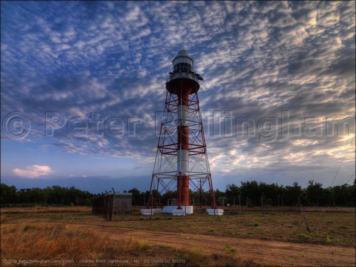 Peter Bellingham Photography Charles Point Lighthouse - NT  SQ (PBH3 00 12573)