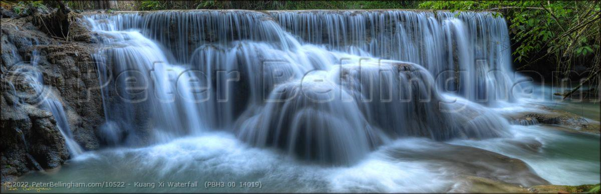 Peter Bellingham Photography Kuang Xi Waterfall  (PBH3 00 14019)