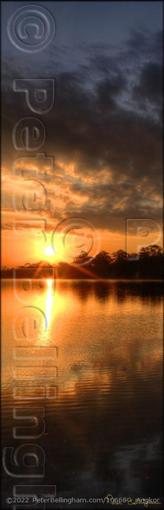 Peter Bellingham Photography Angkor Sunrise V (PBH3 00 13723)