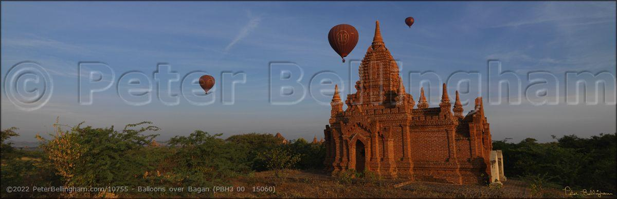 Peter Bellingham Photography Balloons over Bagan (PBH3 00  15060)