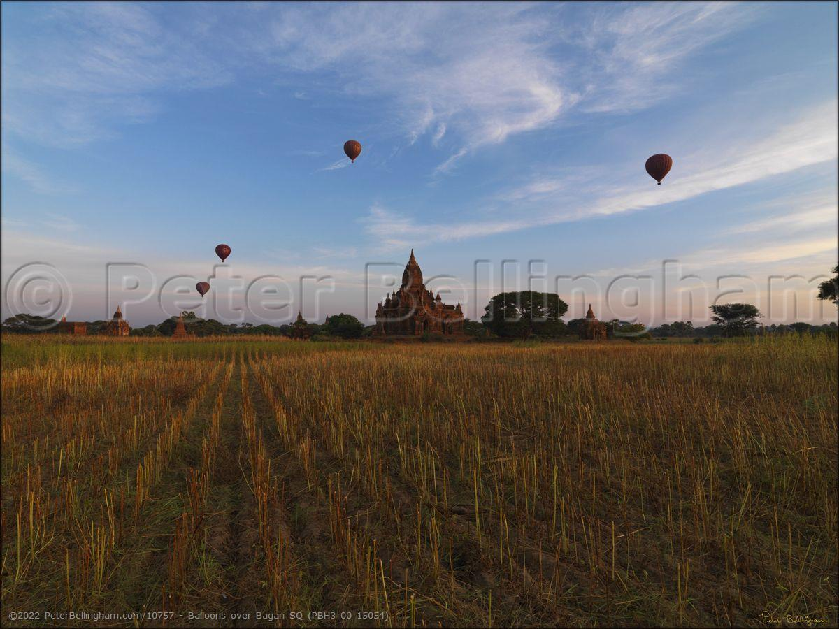 Peter Bellingham Photography Balloons over Bagan SQ (PBH3 00 15054)
