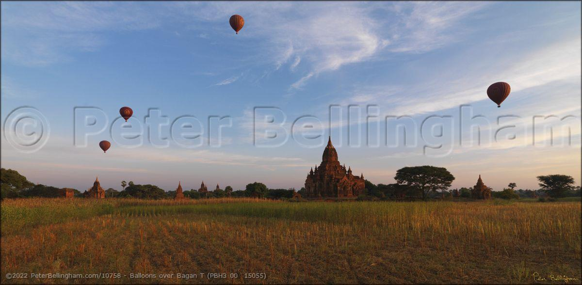 Peter Bellingham Photography Balloons over Bagan T (PBH3 00  15055)