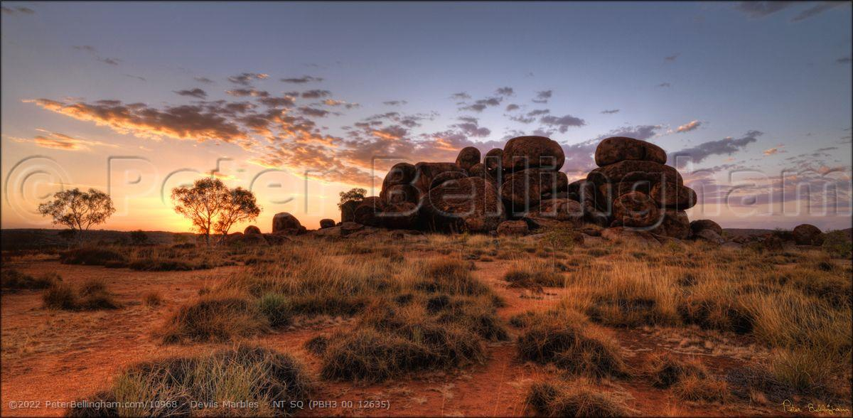 Peter Bellingham Photography Devils Marbles - NT SQ (PBH3 00 12635)