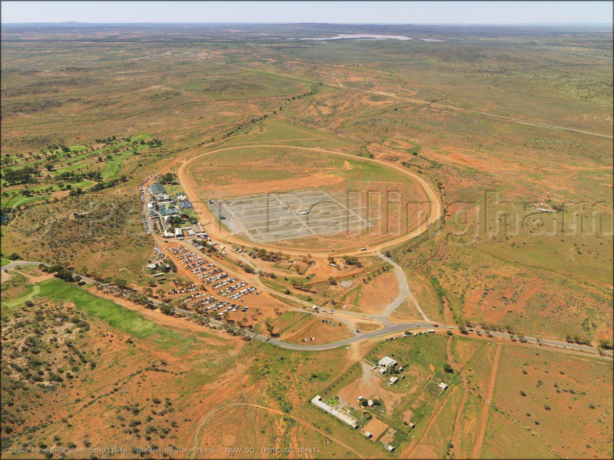 Peter Bellingham Photography Broken Hill Race Track - NSW SQ  (PBH3 00 16465)