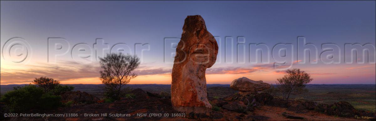 Peter Bellingham Photography Broken Hill Sculptures - NSW (PBH3 00 16602)