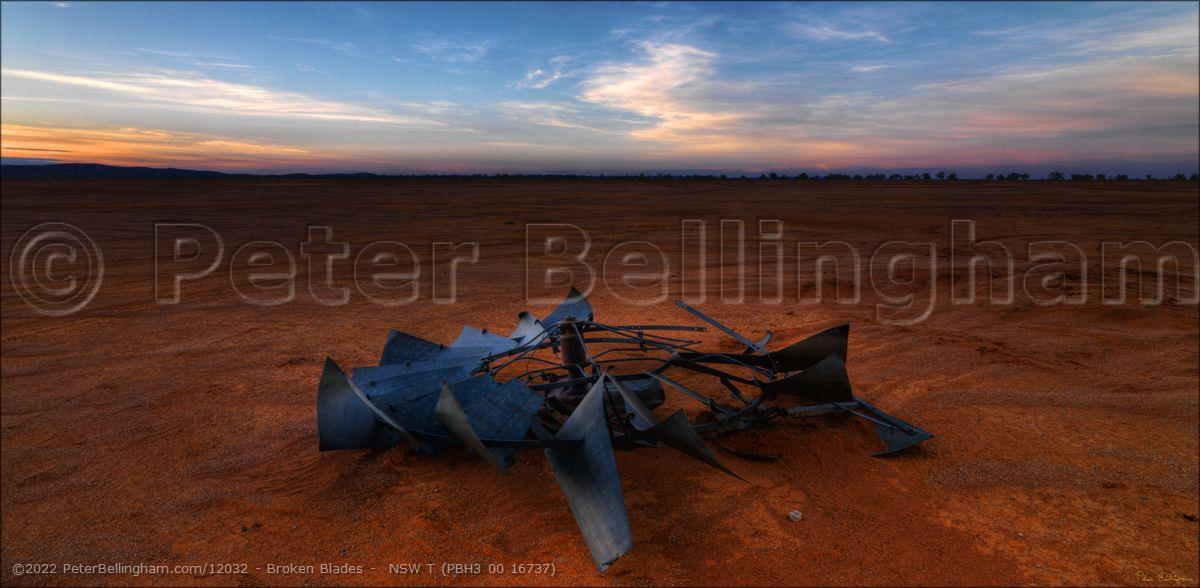 Peter Bellingham Photography Broken Blades -  NSW T (PBH3 00 16737)