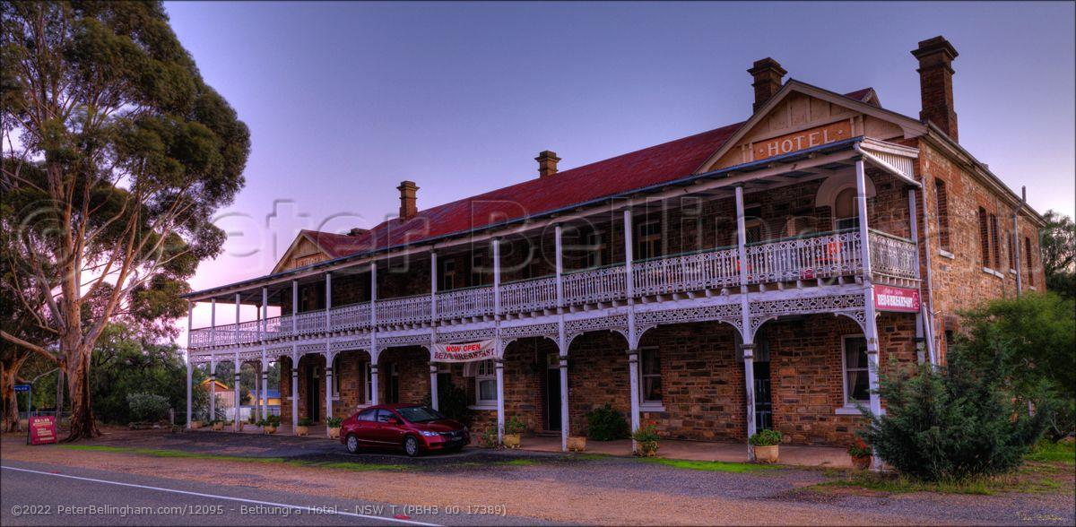 Peter Bellingham Photography Bethungra Hotel - NSW T (PBH3 00 17389)