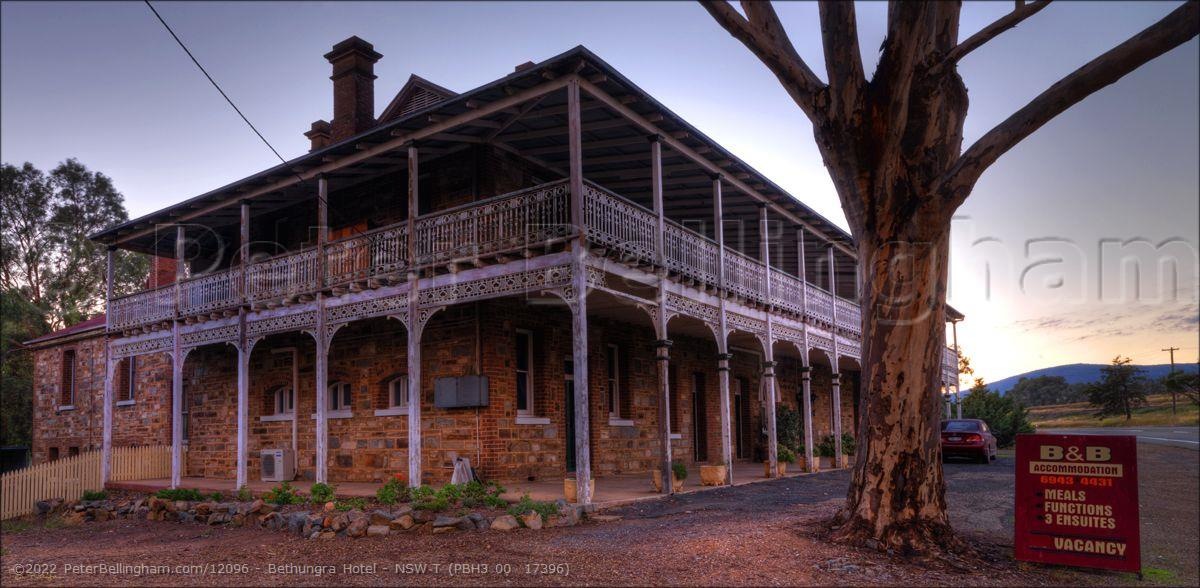 Peter Bellingham Photography Bethungra Hotel - NSW T (PBH3 00  17396)
