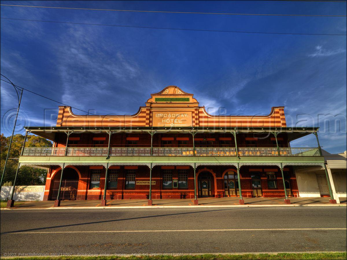 Peter Bellingham Photography Broardway Hotel - Junee - NSW SQ (PBH3 00 17105)