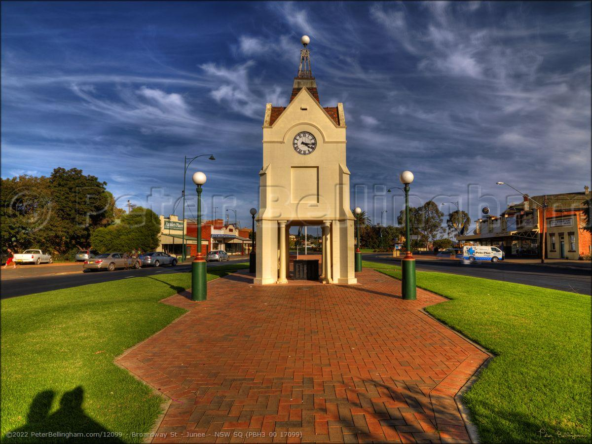 Peter Bellingham Photography Broardway St - Junee - NSW SQ (PBH3 00 17099)