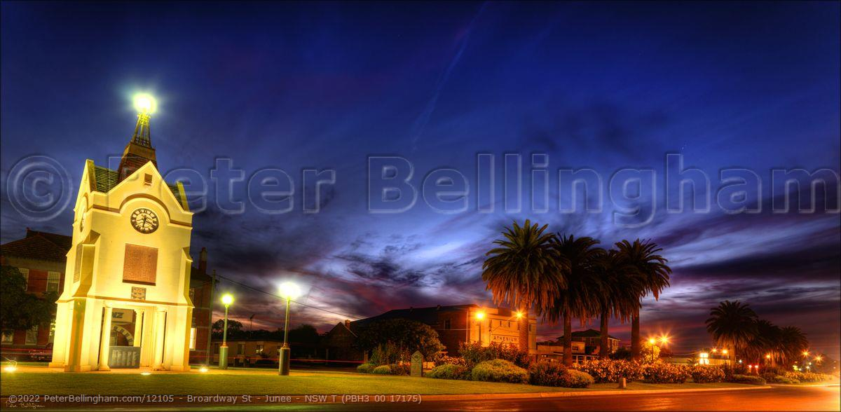 Peter Bellingham Photography Broardway St - Junee - NSW T (PBH3 00 17175)