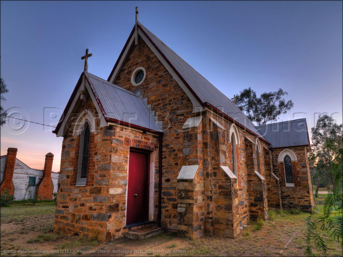 Peter Bellingham Photography Augestine Church Bethungra NSW SQ (PBH3 00 17399)
