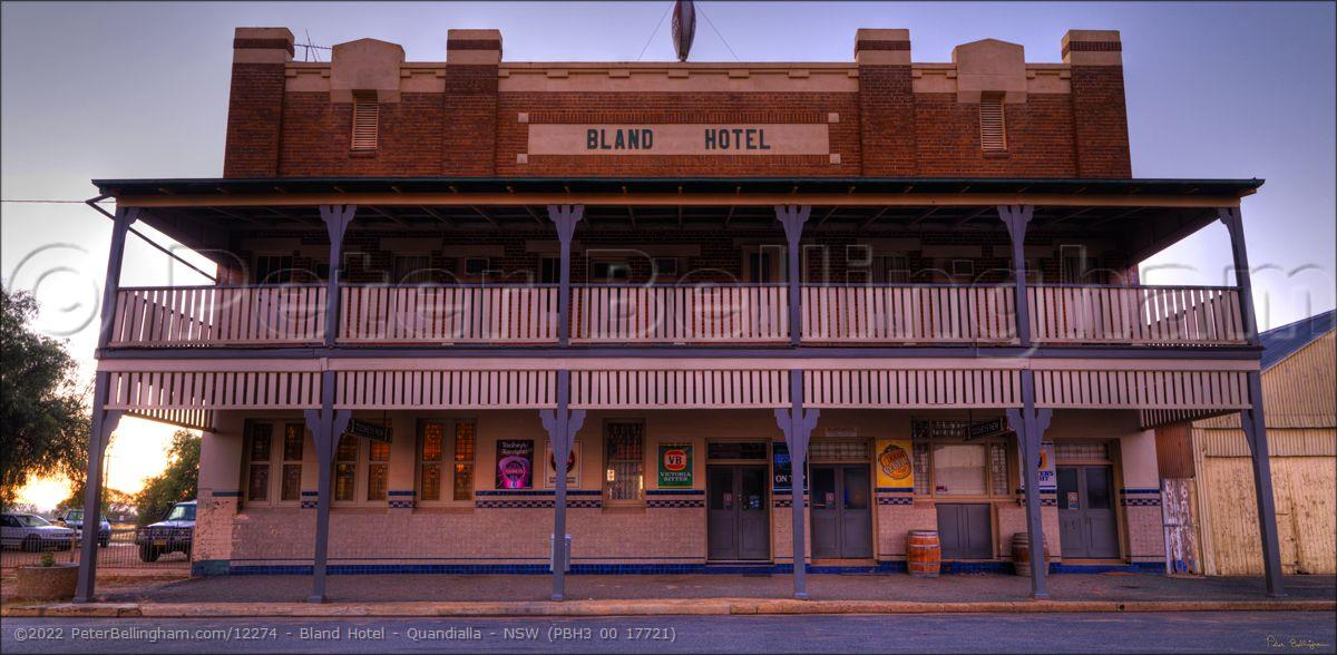 Peter Bellingham Photography Bland Hotel - Quandialla - NSW (PBH3 00 17721)