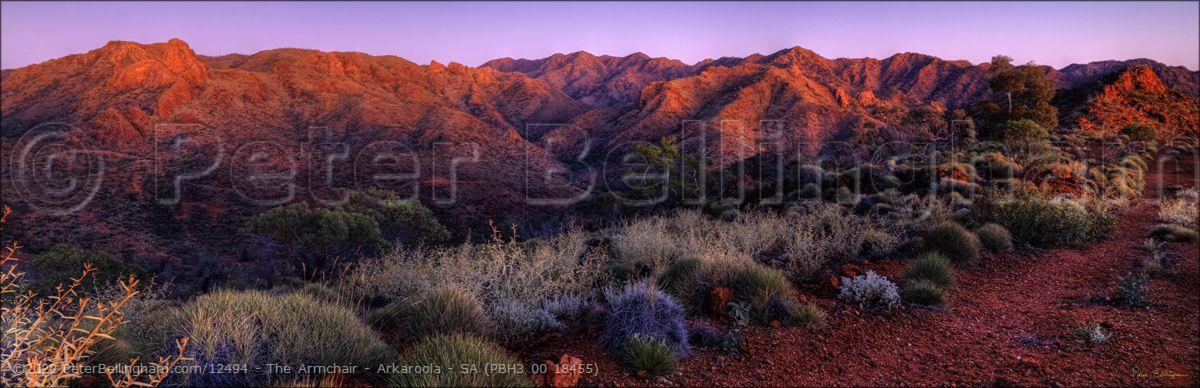 Peter Bellingham Photography The Armchair - Arkaroola - SA (PBH3 00 18455)