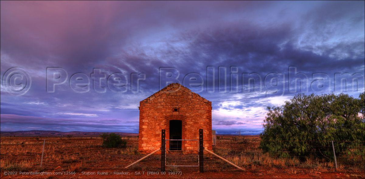 Peter Bellingham Photography Station Ruins - Hawker - SA T (PBH3 00 19077)