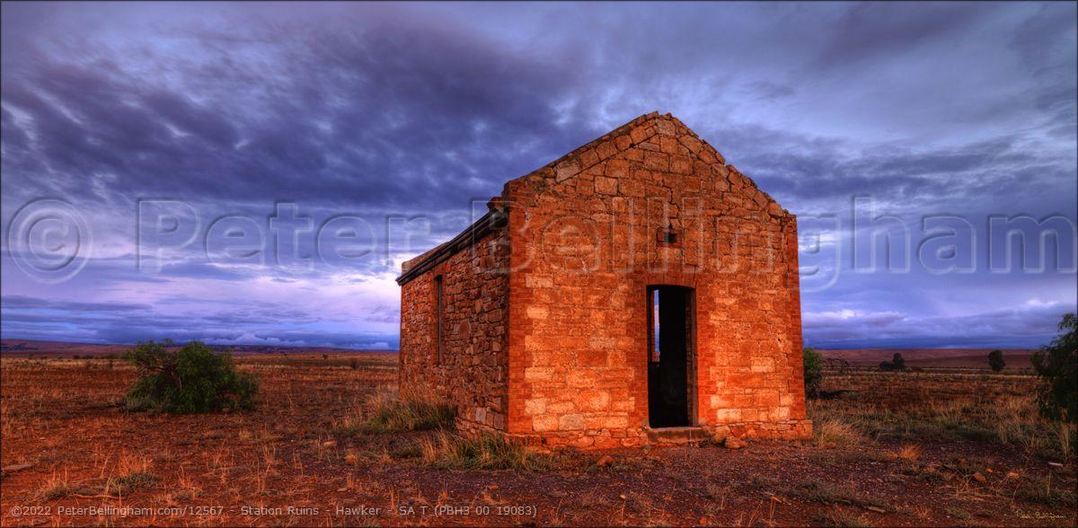 Peter Bellingham Photography Station Ruins - Hawker - SA T (PBH3 00 19083)