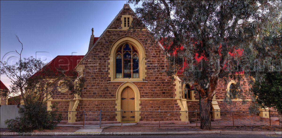 Peter Bellingham Photography Anglican - Port Augusta - SA T (PBH3 00 21512)