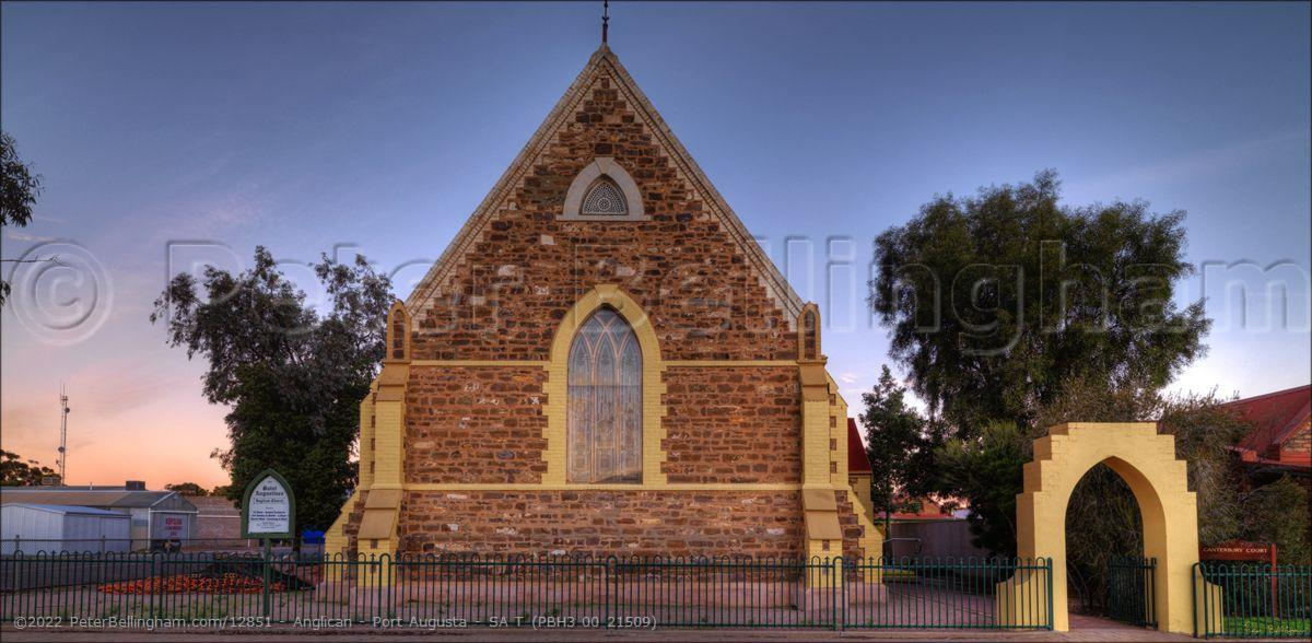 Peter Bellingham Photography Anglican - Port Augusta - SA T (PBH3 00 21509)