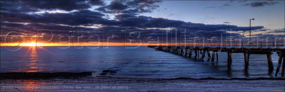 Peter Bellingham Photography Tumby Bay Jetty - SA (PBH3 00 20672)