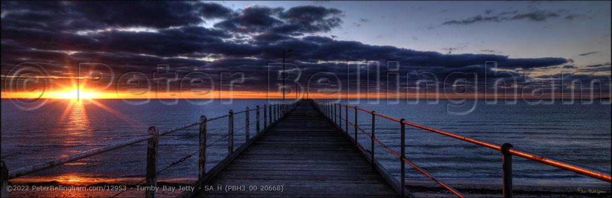 Peter Bellingham Photography Tumby Bay Jetty - SA H (PBH3 00 20668)