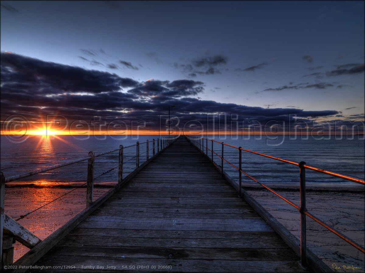 Peter Bellingham Photography Tumby Bay Jetty - SA SQ (PBH3 00 20668)