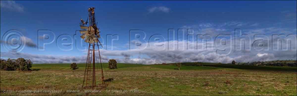 Peter Bellingham Photography Windmill - Wirrabara - SA (PBH3 00 22388)