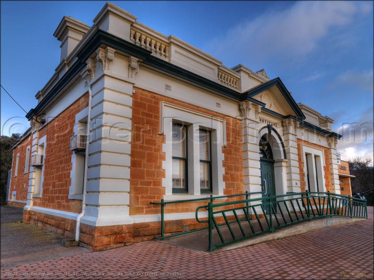 Peter Bellingham Photography Wirrabara Institute - SA SQ (PBH3 00 22325)